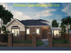 TOWNHOUSES VIC Blackburn 102 Main Street  | gproperty